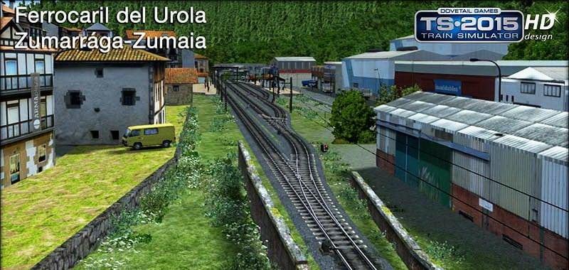 FFVV Urola v1 0 Route - Train Simulator Addon / Mod