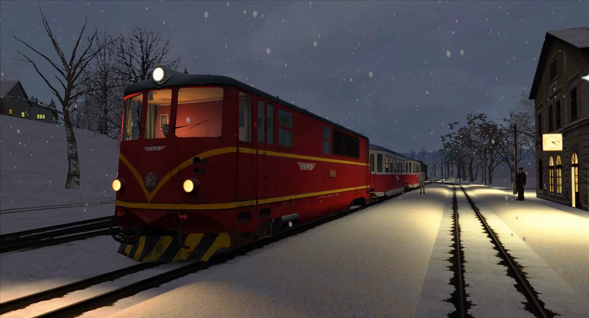 Narrow Gauge Uzkorozchodna Czech Route v1 0 - Train Simulator Addon