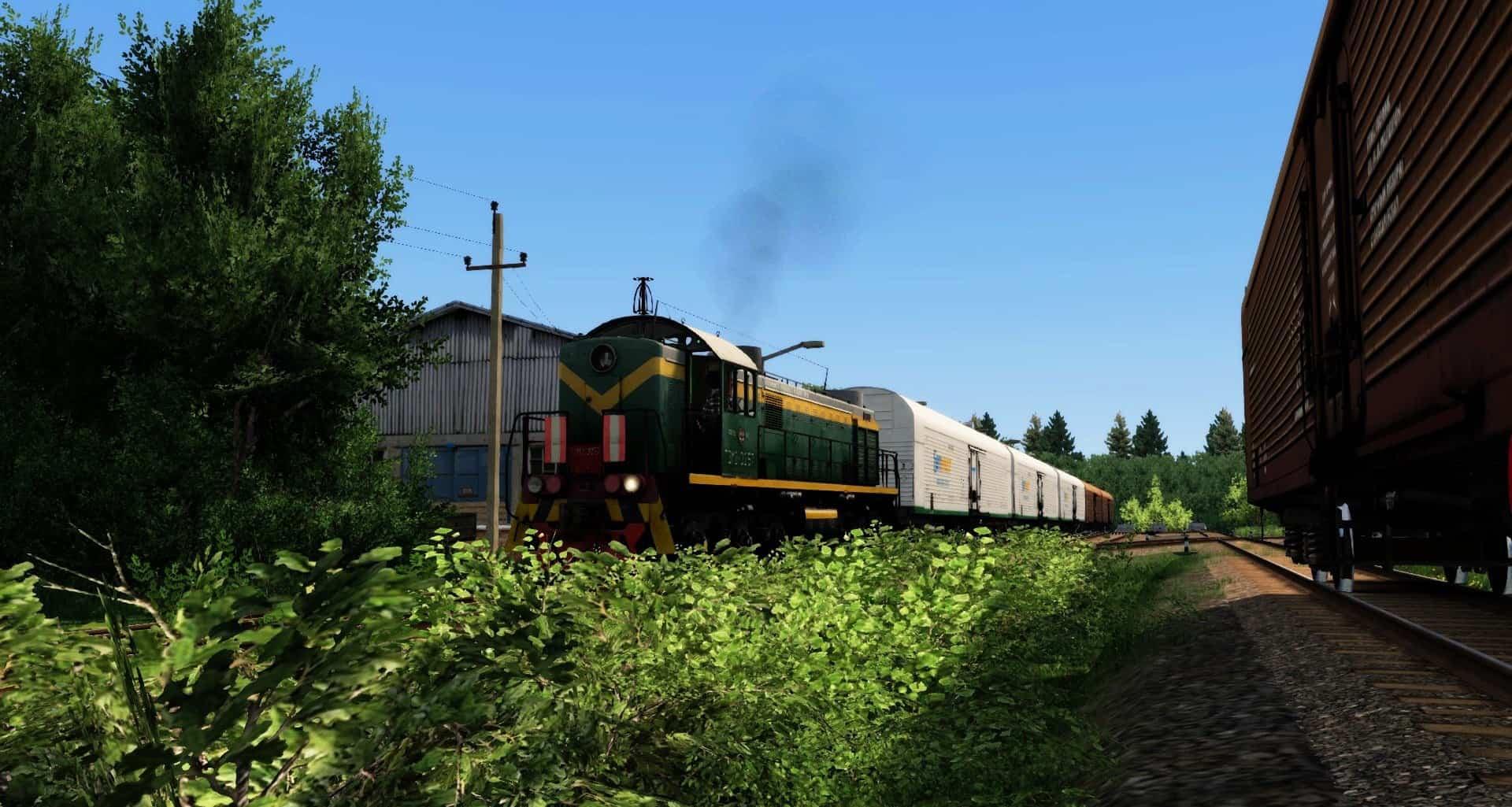 Route Russian Land v4 0 - Train Simulator Addon / Mod