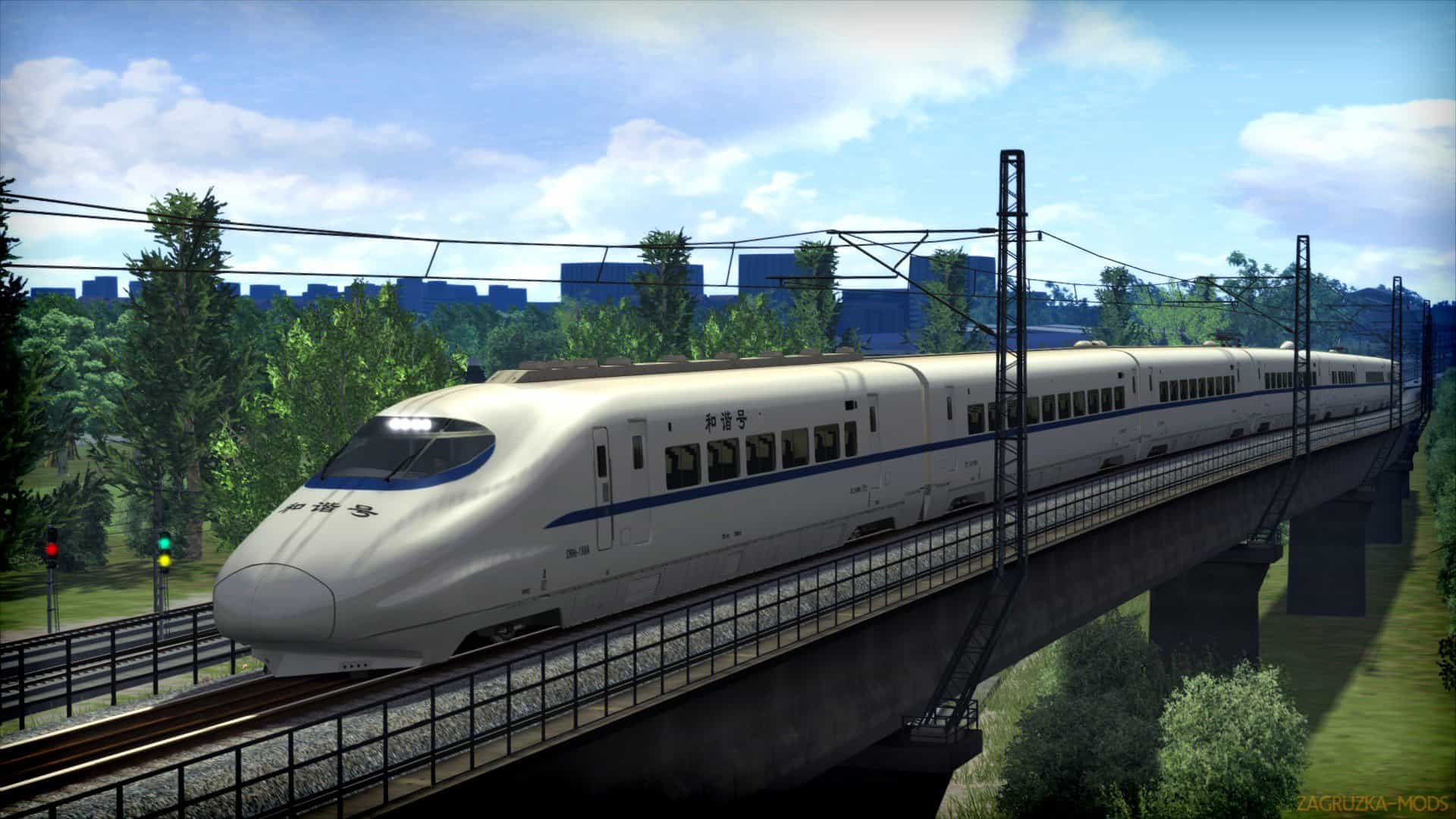 Chinese CRH2A High Speed EMU Train v1 0 - Train Simulator