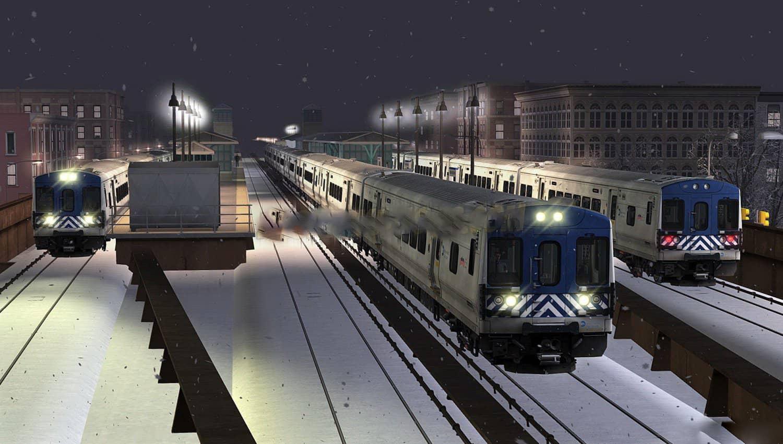 Route Hudson Line: New York - Croton-Harmon v1 0 for TS 2019 - Train